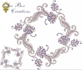 Machine Embroidery Motif -17 - Mix N Match Elegance - by Sue Box