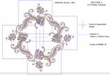 Machine Embroidery Motif -18 - Mix N Match Elegance - by Sue Box