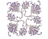 Machine Embroidery Motif -26 - Mix N Match Elegance - by Sue Box