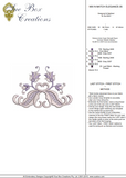 Machine Embroidery Motif -35 - Mix N Match Elegance - by Sue Box