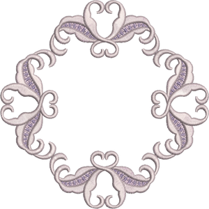 Machine Embroidery Motif -05 - Mix N Match Elegance - by Sue Box
