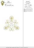 Christmas Decorations 3 Embroidery Motif - 01 - Sparkling Christmas Collection by Sue Box