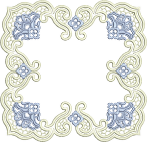 Square Doily - Two Part