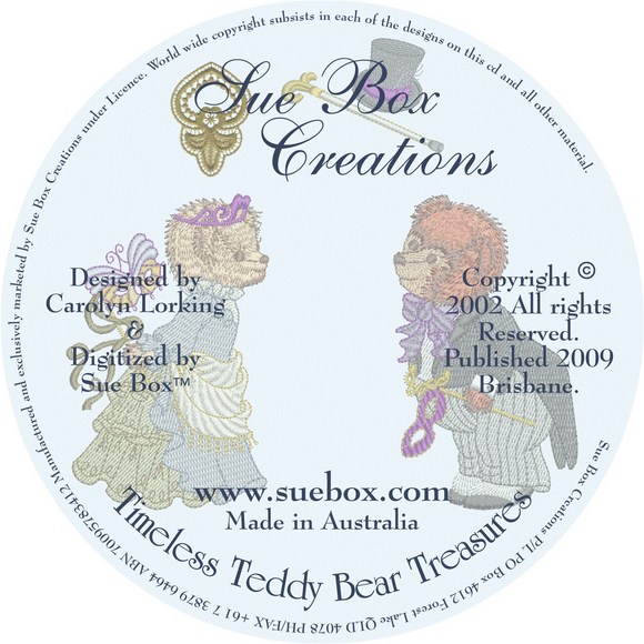 15 - Timeless Teddy Bear Treasures on CD