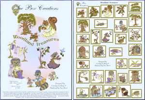 Woodland Treasures collection by Sue Box - Full Download