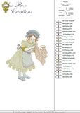 Dressmaker Hilda Embroidery Motif - 17 - Creative Little Homemakers by Sue Box