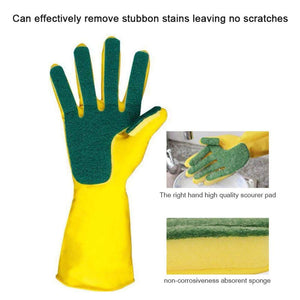 Kitchen Sponge Cleaning Gloves
