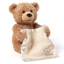 Load image into Gallery viewer, Interactive Peek-a-boo Bear