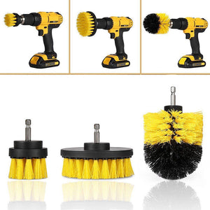 3pc Power Scrubber Kit