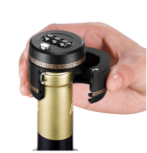 Wine Bottle Lock - Combination Wine Lock & Preserver