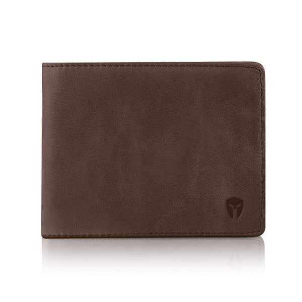 Bryker Hyde 2 ID Window RFID Wallet for Men, Bifold Top Flip, Extra Capacity Travel Wallet