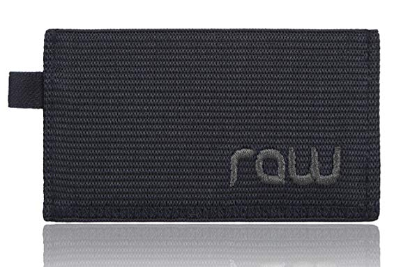 RAW Minimalist Wallet & Credit Card Holder For Men with Slim Design by Raw (Women love it too!)
