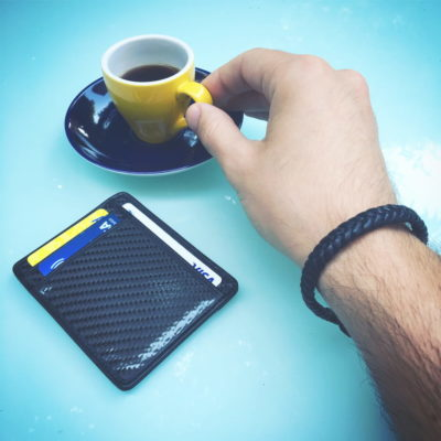 Kinzd Slim Carbon Fiber Wallet