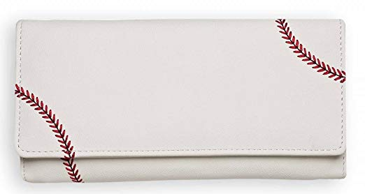 Zumer Sport Baseball Leather Ball Material Women's Wallet