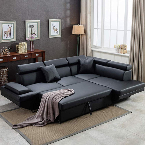 The 10 Best Leather Sleeper Sofas of 2019 | Kinzd