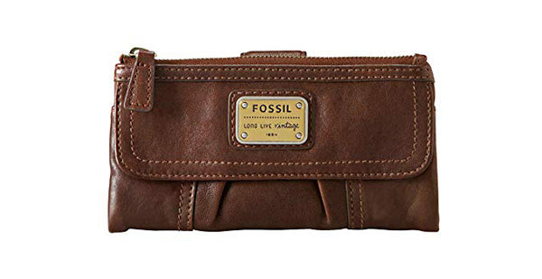 Fossil Womens Emory Bifold Soft Leather Wallet