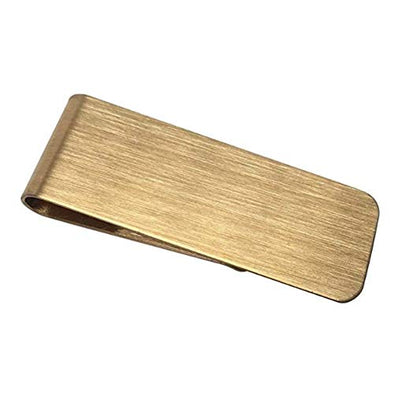 Stainless Steel Money Clip Holder Slim (Gold, 1)