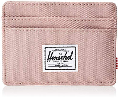 Herschel mens Charlie Rfid Card Case Wallet, Ash Rose, One Size US