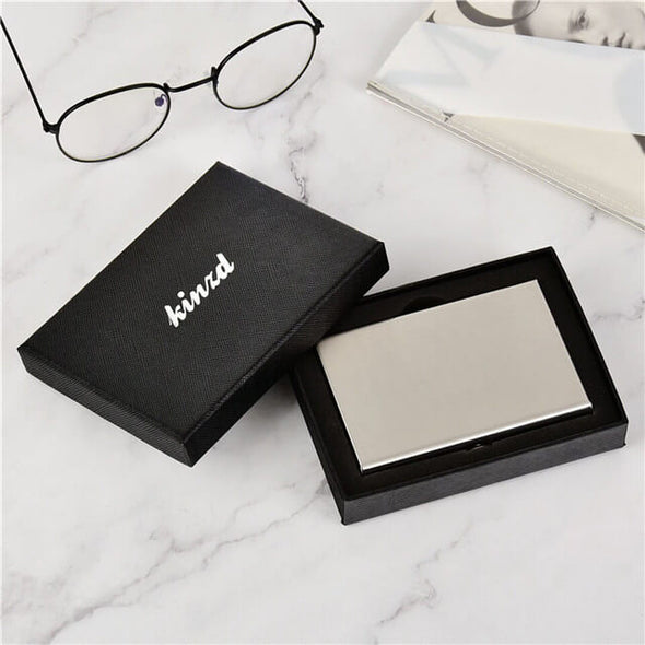 Metal Card Holder Stainless Steel Wallet