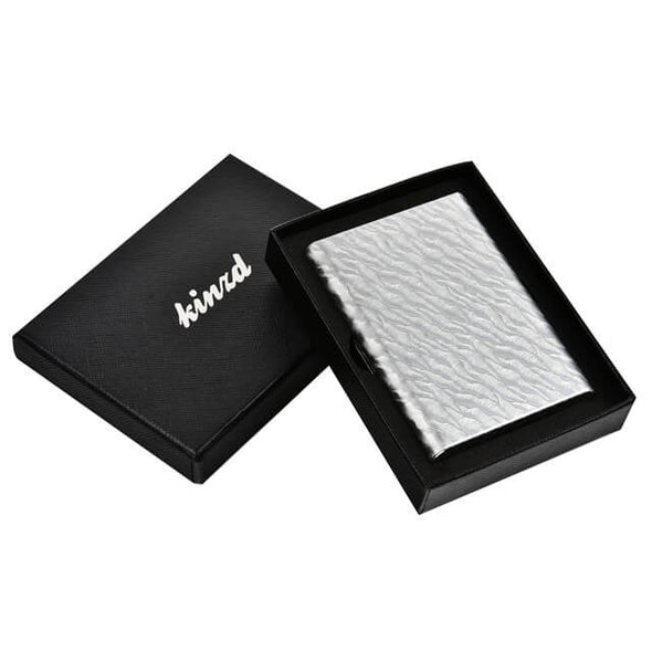Water Ripple Metal Card Holder Stainless Steel Wallet