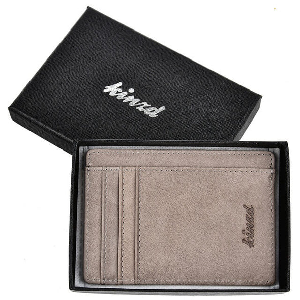 oil wax leather wallet
