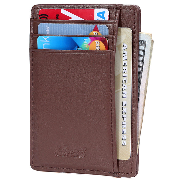 minimalist design front pocket wallet