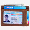 RFID slim card wallet