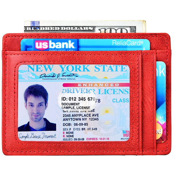 front pocket wallet RFID