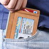 Slim front pocket wallet