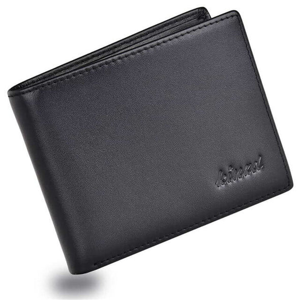Nappa Leather Slim Trifold Wallet