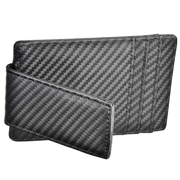 Carbon Fiber Money Clip Wallet