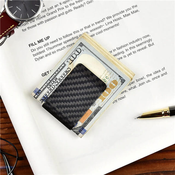 Carbon Fiber Minimalist Money Clip