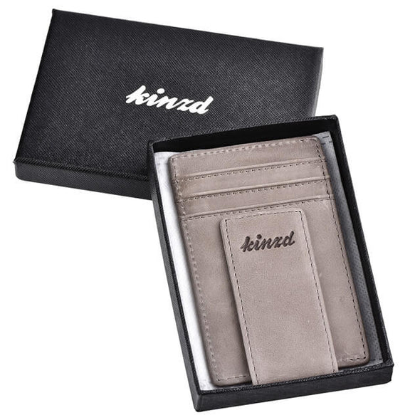 money clip wallet card holder