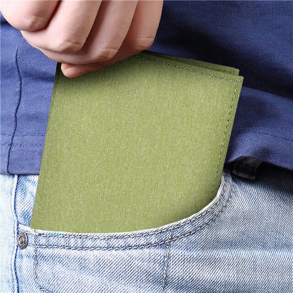 Waterproof Slim Bifold RFID Blocking Wallet