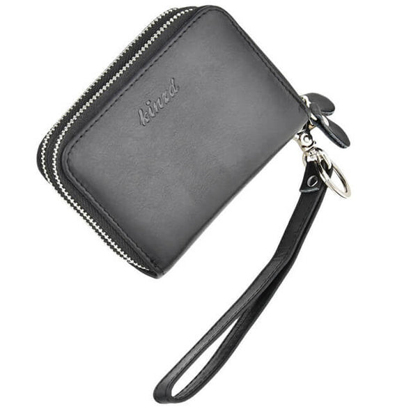 Black Womens card holder wallet