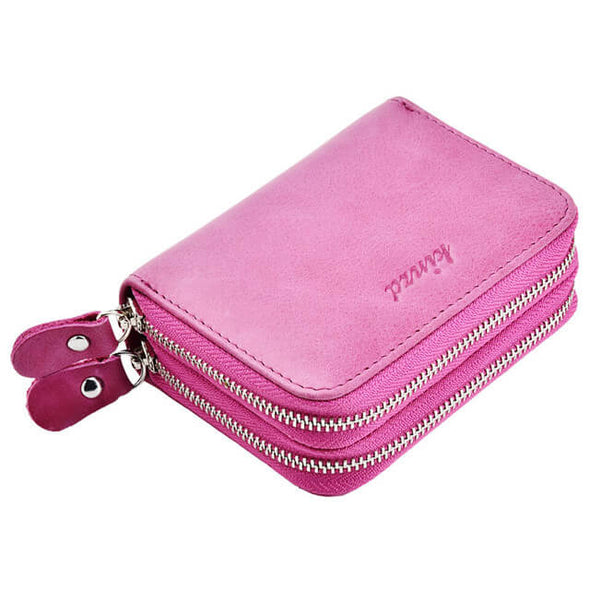 Purple Womens card holder wallet