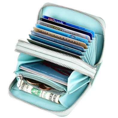 Womens card holder wallet