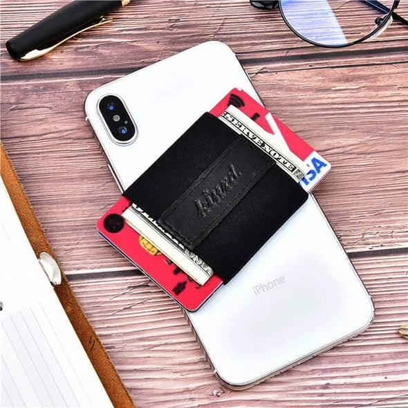 Minimalist Elastic Card Holder Slim Wallet