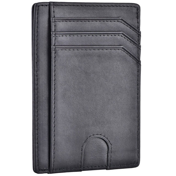 Black Slim Minimalist wallet
