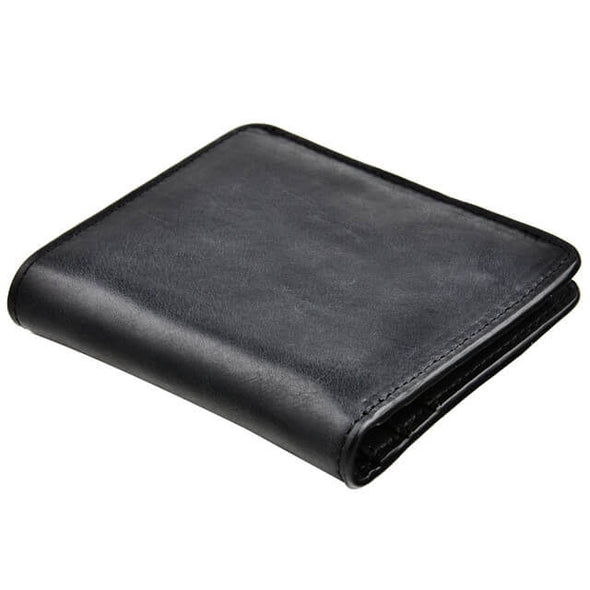 Leather RFID Blocking Credit Card Holder Wallet