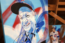 "Load image into Gallery viewer, ""BILL MURRAY"" - Original Painting by Matt Szczur (30x30)"