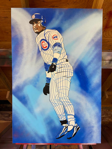 """SAMMY"" - Original Painting by Matt Szczur (24x36)"