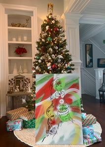 """THE GRINCH"" - Original Painting by Matt Szczur (24x36)"