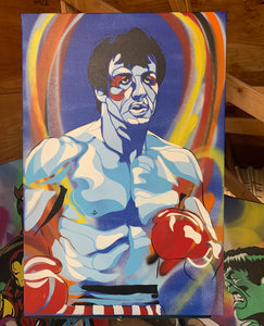 """ROCKY"" - Original Painting by Matt Szczur (24x36)"