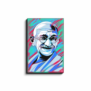 """GANDHI"" - Canvas Print by Matt Szczur (Multiple Sizes Available)"