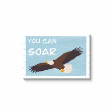 "Load image into Gallery viewer, ""You Can Soar"" - Canvas Print by Matt Szczur (Multiple Sizes Available)"