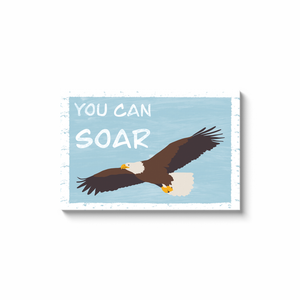 """You Can Soar"" - Canvas Print by Matt Szczur (Multiple Sizes Available)"