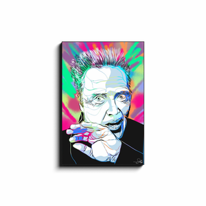 """CHRISTOPHER WALKEN"" - Canvas Print by Matt Szczur (Multiple Sizes Available)"