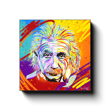 "Load image into Gallery viewer, ""EINSTEIN"" - Canvas Print by Matt Szczur (Multiple Sizes Available)"