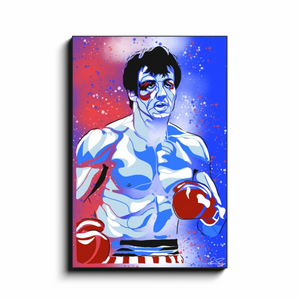 """ROCKY"" - Canvas Print by Matt Szczur (Multiple Sizes Available)"